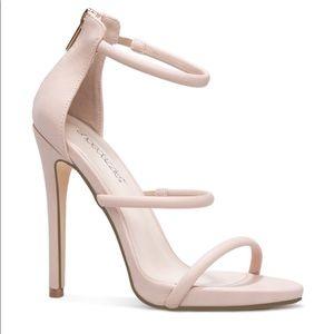 Strappy stiletto sandal